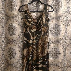 Dresses & Skirts - Animal Print Maxi Dress